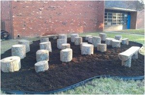 The new WHES Outdoor Classroom