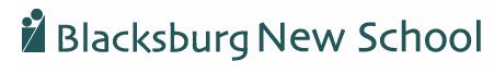 Blacksburg New School Logo