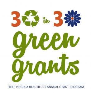 30 in 30 Green Grants Logo