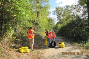 REI Neabsco Boardwalk clean up